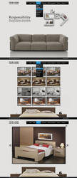 Interior Web Design by Downgraf