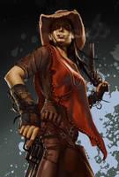 Gunslinger by Grobi-Grafik