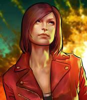 GTA V Online Character-Portrait by Grobi-Grafik