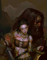 Barbarians Of Lemuria by Grobi-Grafik