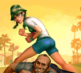GTA Online-Character by Grobi-Grafik