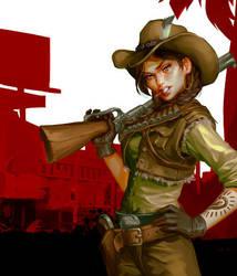 GTA-Cowgirl by Grobi-Grafik