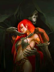 Red Sonja by Grobi-Grafik
