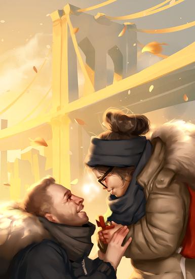 Couple by Grobi-Grafik