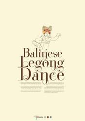 Balinese Legong Dance by MrCarik