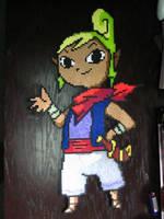 Perler: Tetra (Zelda) by AlyciaZU