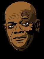 Samuel L. Jackson by Koscielny