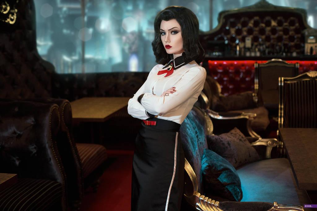 Elizabeth (Bioshock Infinite DLC) by Luna by Lunaritie on
