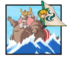 Wind Waker: Boatman by BaronVonSkarin