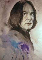 Snape. Watercolor. by Kaprasis