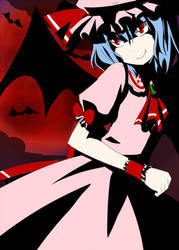 Touhou: Scarlet Devil by Terrterr