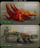 Monster Designs - CLOSED by TheJiggyMonster