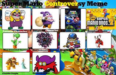 LuigiFan's Super Mario Controversy Meme by LuigiFan00001