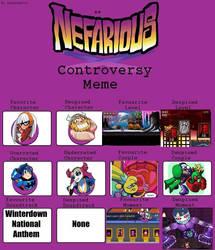 Nefarious Controversy Meme by LuigiFan00001