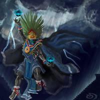 Tlaloc by drgn-skull05