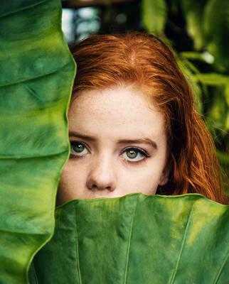 Green Eyed Girl by VelvetRedBullet