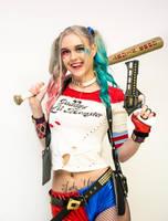 Harley Quinn Cosplayer by VelvetRedBullet