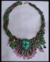 Secret Garden Beaded Necklace by jardan