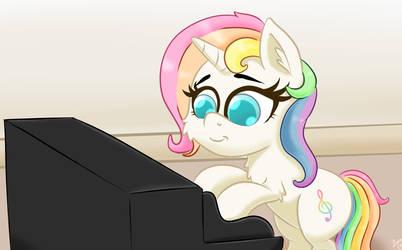 Rainbow Dream's Recital by luciusheart