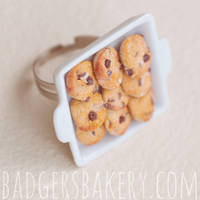 cookie tray ring by BadgersBakery
