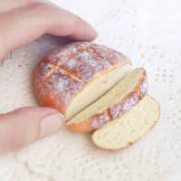 Miniature Bread for BJD by BadgersBakery