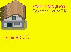 Custom Pokemon house tile by Suhid98