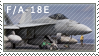 F-18E Stamp by pauldy