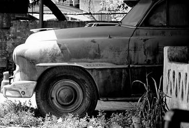 Old Car by Fooki