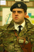 Modern Gallian Officer Cosplay by Vielwerth