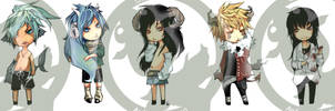 For copycat01 CHIBI PARADE by Unodu