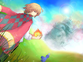 Howl's_Moving_Castle by Unodu