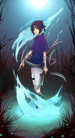 Sasuke_Water by Unodu