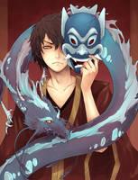 Blue_Spirit_Zuko by Unodu