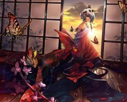 Butterfly_girl by Unodu