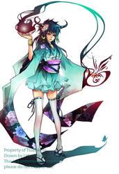 Tsubaki-Ai_COMMISSION by Unodu