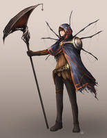Dragon_Warrior_Character_Design by Unodu