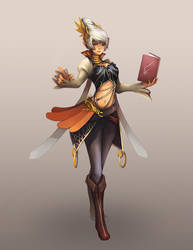 Mage by Unodu