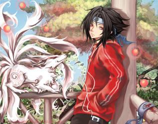 Sasuke by Unodu