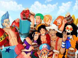 One Piece - Kanpai ! by Kitsoow