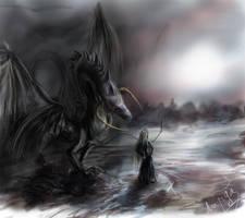 Dark and necromancer by Lordanka