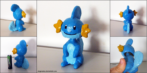 PKMN: Mudkip Bobblehead by yingmakes