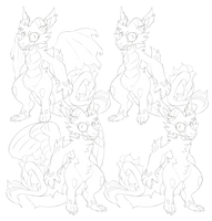 PTU silly dragon 150pts by Shegoran