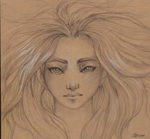 Portrait by selewyn