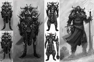 Warriors by TylerScarlet
