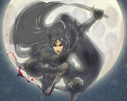 Critical Role's Vax'ildan the Half Elven Rogue by ladywinde