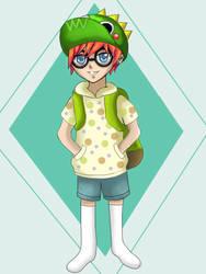 Dino hat by DudeImmaGirl