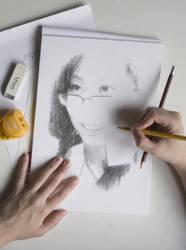 Self Portrait by GraceDoragon