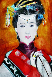 Empress of China by GraceDoragon