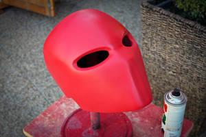 Red Hood Helmet by ManAtArmsProps