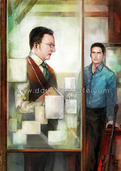 Person of Interest by Haining-art